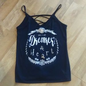Dreamer at Heart Strappy Tank Top